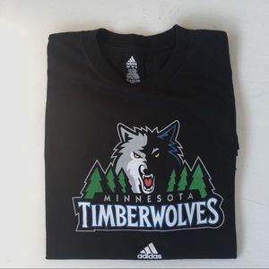 Minnesota Timberwolves Tee Shirt Size Large Men's